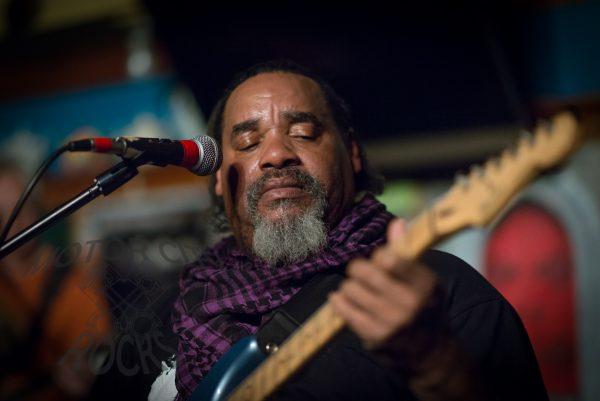 Ike Willis and the Ugly Radio Rebellion, at O'Mara's in Berkley, MI,  April 6 2014