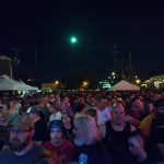 Troy Street was packed!The Reverend Peyton's Big Damn Band, Ferndale DIY Street Fair, September 23, 2017